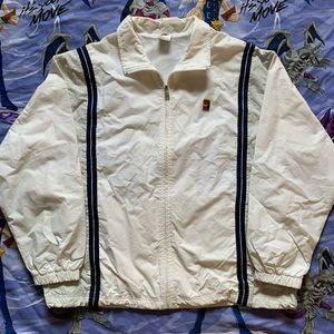 Vintage 90s Nike Tennis Windbreaker Jacket